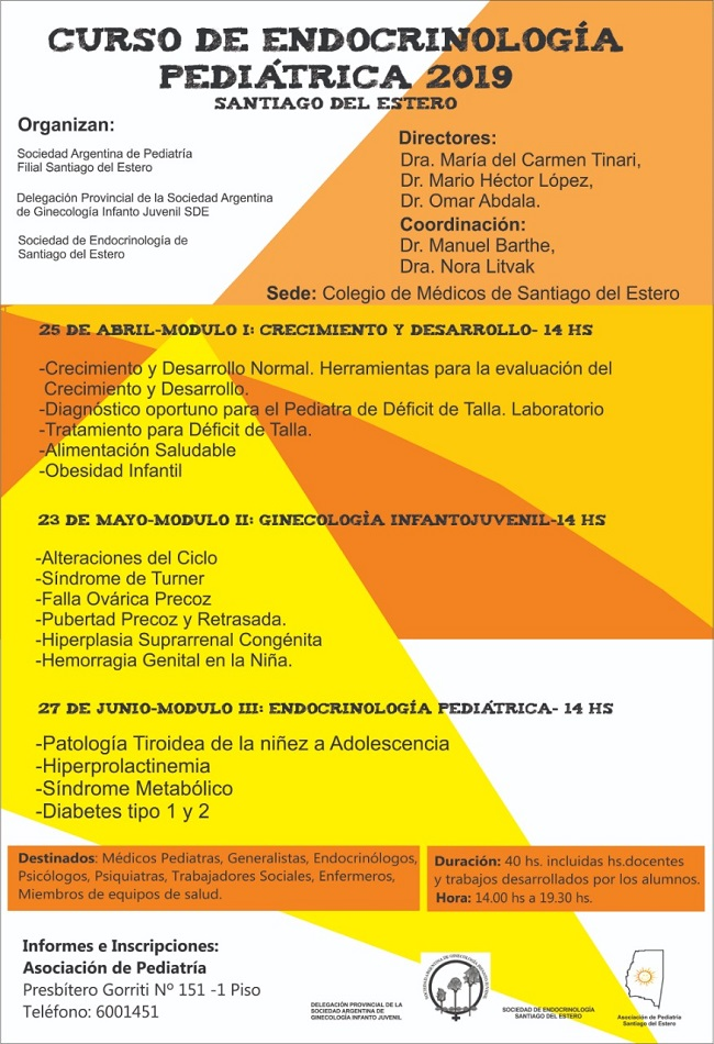 Endocrino Pediatrica 2019