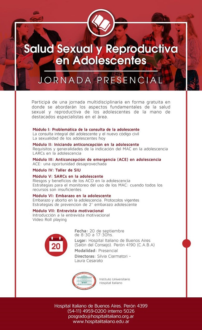 Jornadas Salud Sexual